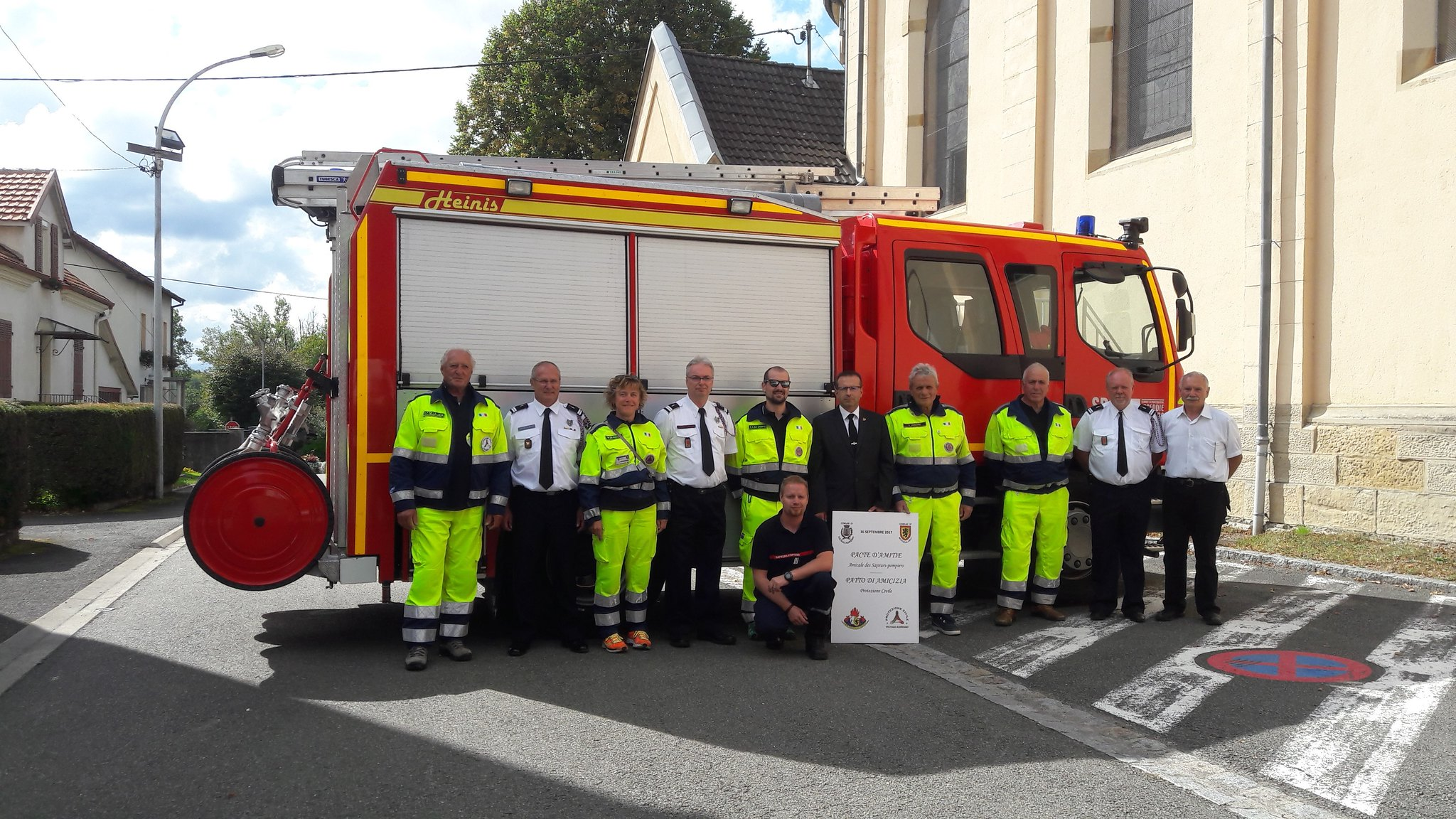 16/09 Rencontre officielle Pompiers MX-VX/Protection Civile VOLTAGO