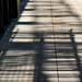 Shadows of a fire escape above. by bkkay1