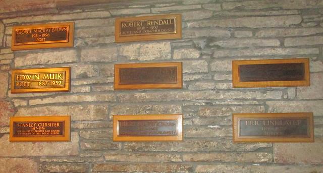 St Magnus Cathedral, Orkney, Poets' Corner