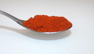 07 - Zutat Paprika edelsüß / Ingredient sweet paprika
