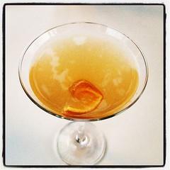Blood orange cardamon martini, typ. #ac #semestär