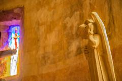 09-L'ange et le vitrail est - Photo of Belin-Béliet