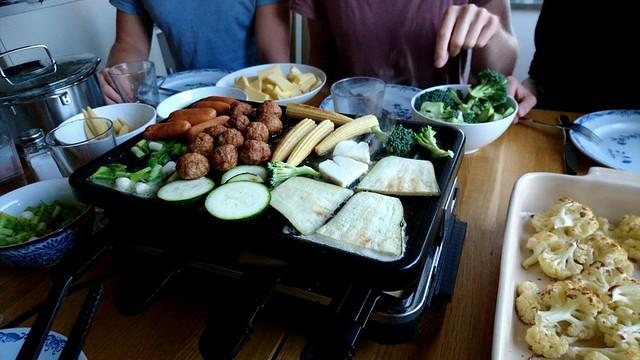 Veckans matiga planer innehåller dock inte Raclette