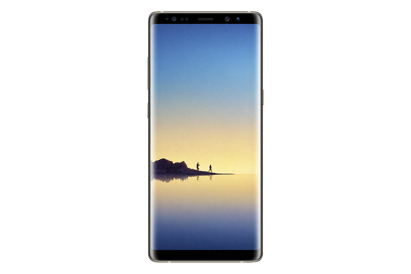 Samsung Galaxy Note 8 - Maple Gold - Front
