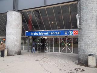 DPP Light Rail Station in Prague, Czech Republic