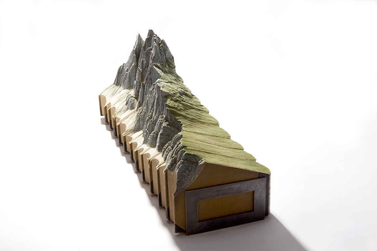Guy Laramée Carved Book Art