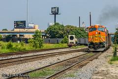 BNSF 5669 | GE AC4400CW | NS Memphis District