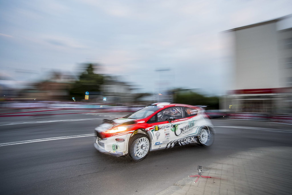 04 BOUFFIER Bryan (FRA)  DINI Gilbert (FRA) Ford Fiesta R5 action during the 2017 European Rally Championship Rally Rzeszow in Poland from August 3 to 5 - Photo Gregory Lenormand / DPPI