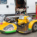 Lydden Hill August 2016 Paddock Sidecar Triumph T140V No 45 001