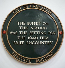 Photo of Brief Encounter black plaque