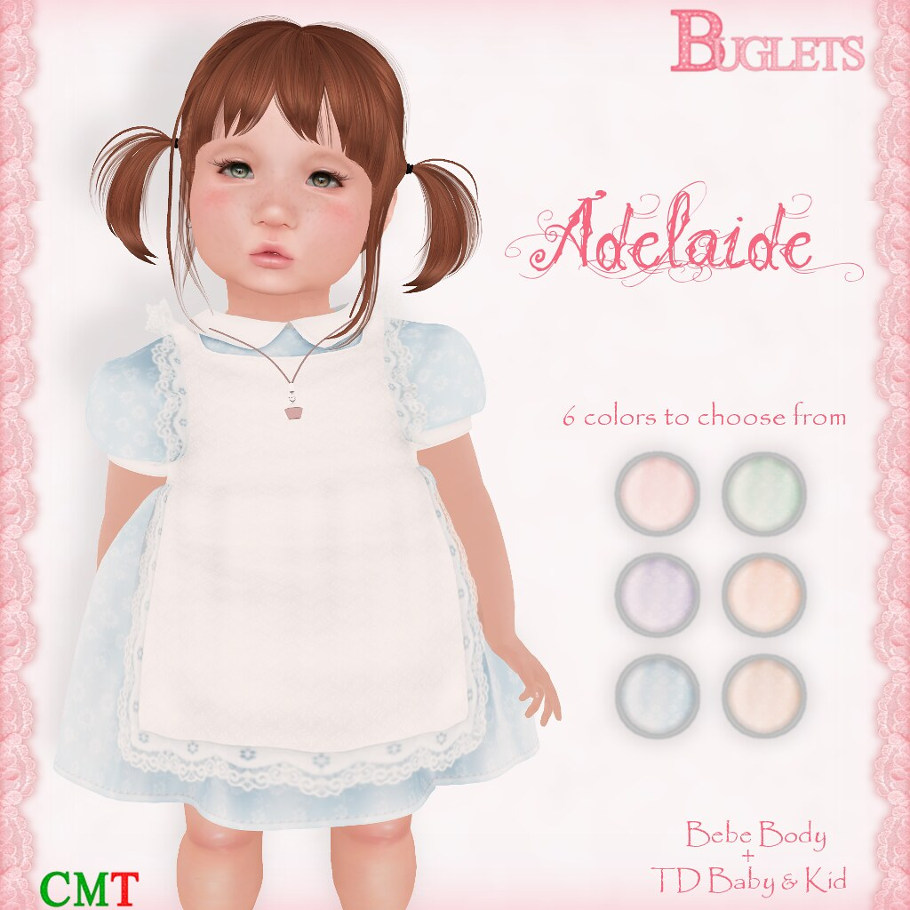 Adelaide Dress AD - SecondLifeHub.com