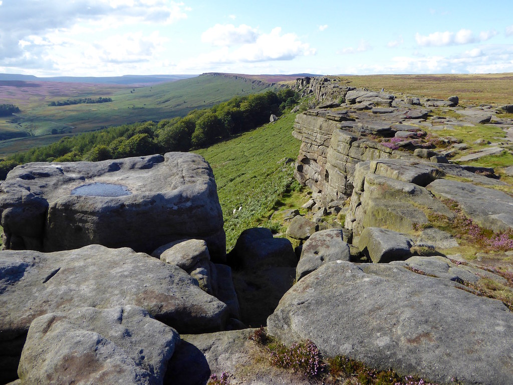 Stanage Edge Sheffield to Bamford walk