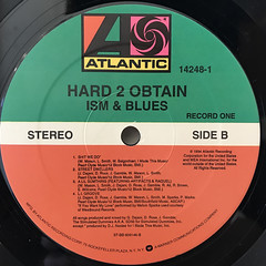 HARD 2 OBTAIN:ISM & BLUES(LABEL SIDE-B)