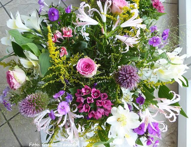 Geburtstags-Blumengrüße
