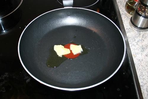 21 - Butterschmalz erhitzen / Heat up ghee
