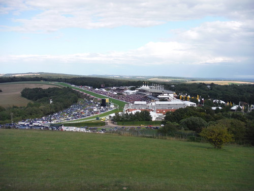 Goodwood Race Course from The Trundle