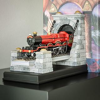 你的書越多,霍格華茲特快車就越長喔~~ThinkGeek 哈利波特【霍格華茲特快列車書擋】Hogwarts Express Bookend Set