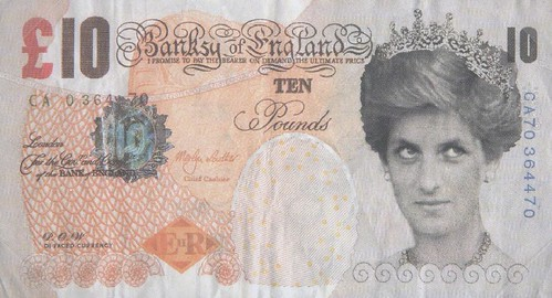 2004 Banksy Di-faced Tenner