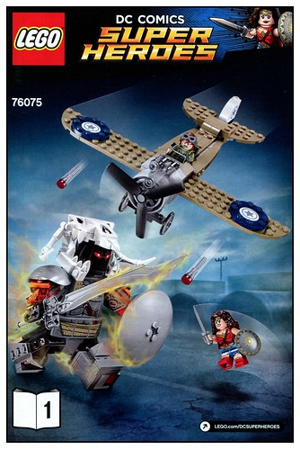 LEGO DC Super Heroes 76075 Wonder Woman Warrior Battle 08