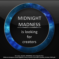 Monthly Midnight Madness creators search
