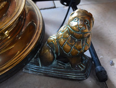 little latten lectern lion (15th Century)