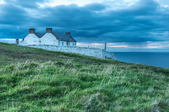 Cottages by St. Abbs Lighthouse