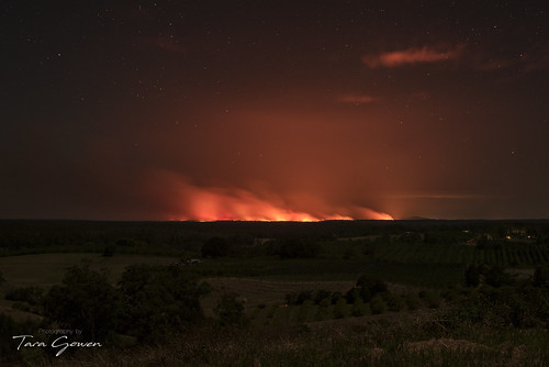 Bushfire Glow