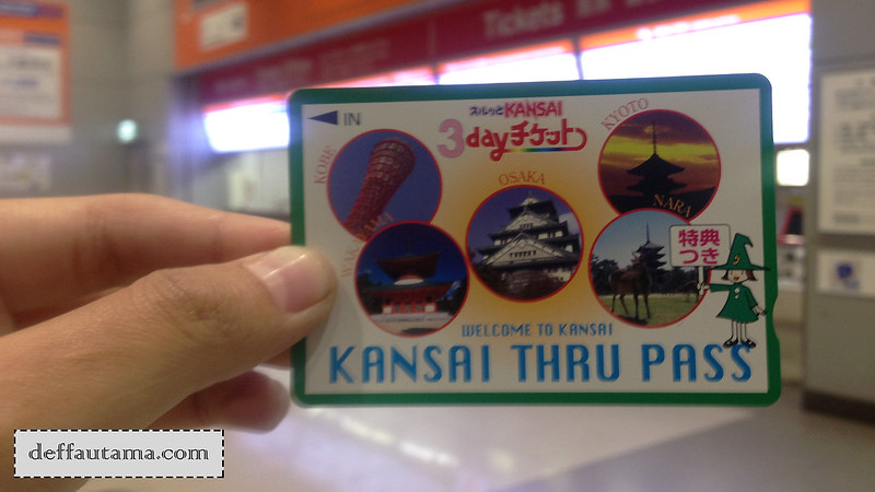 2 Hari Keliling Osaka - Kansai Thru Pass