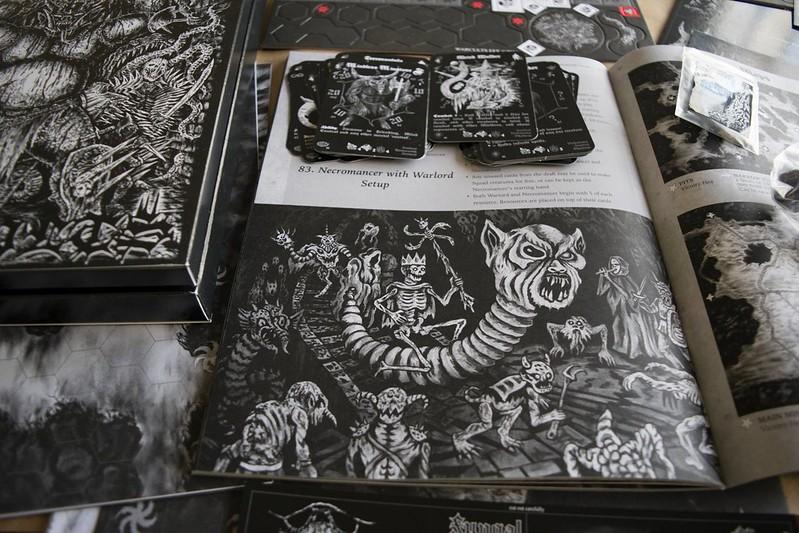 Cave Evil: War Cults - Aeron Alfrey Art Page 1