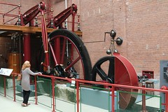 27th August 2017. Twin Beam Engine 1840. Bolton Steam Museum, Lancashire.