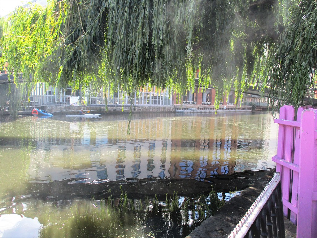 Regent's Canal with Mist