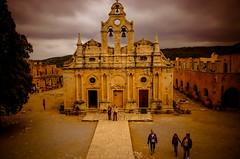 Greece, Crete, Arkadi Monastery