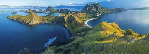 indonesia komodonationalpark padarisland dji mavic teeje fc220 padar island beaches flores