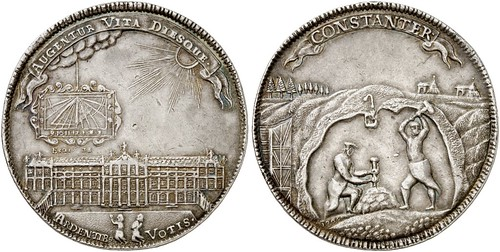 02272Q00 1705 1 1-2 Reichstalern of Anton Ulrich