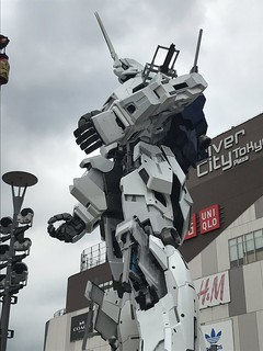 Gundam Unicorn Real Life Size - Assemble