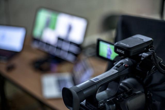 Estudio de grabación de MOOCs PUC