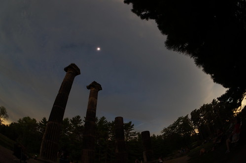 Total Solar Eclipse at The Columns