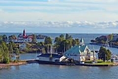 Island restaurant, Helsinki harbour