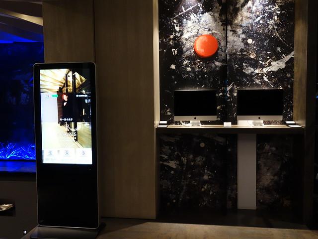 大廳有 MAC 公用電腦@高雄喜達絲飯店