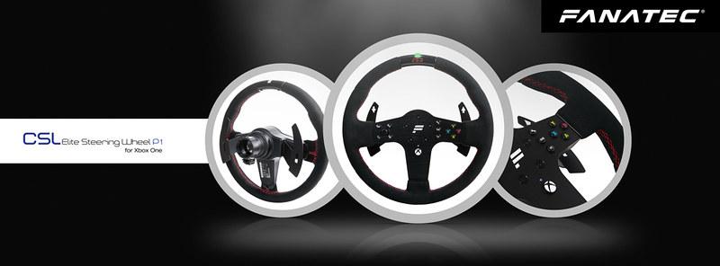 Fanatec Introduced the CSL Elite Steering Wheel P1