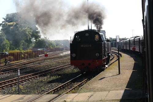 "Bad Doberan to Kühlungsborn on the ""Molli Bahn"", Germany"