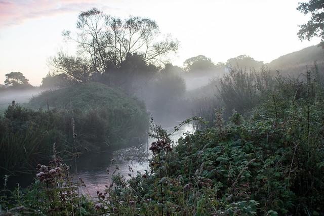 River Puddle at Sunrise 2