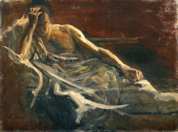 JozefIsraëlsSchetsVoorSchilderijMetAlsOnderwerpDavidEnSaul1899