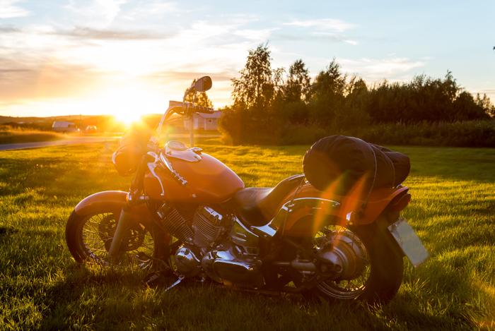 motoristit koulukiusaamista vastaan mkkv lappi lapland tour 2017 moottoripyörä vanha yamaha custom (1 of 1)