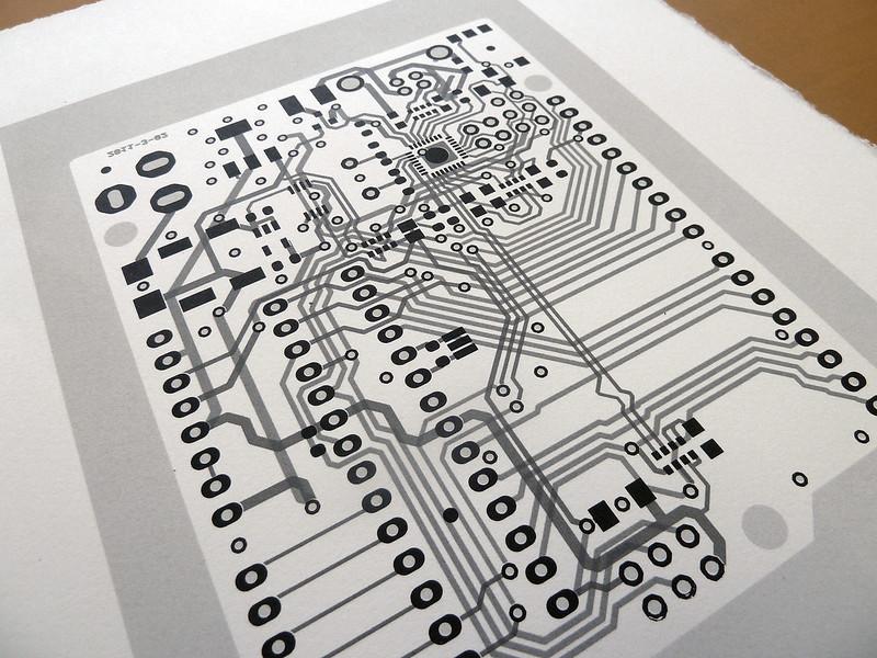 Arduino UNO circuit portraits