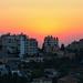 Sunset in Ramallah, Palestine