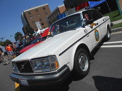 1984 Volvo 240 DL (Falls Church, VA Police)