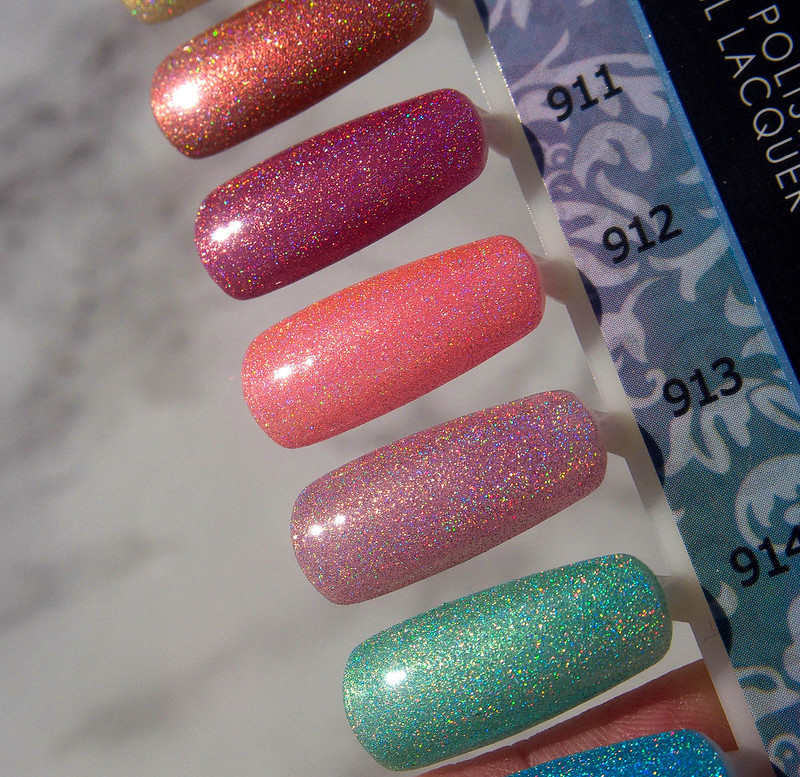 Kiara Sky Holo Mermaid Collection Swatches