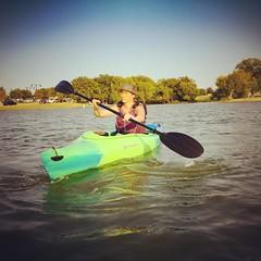 Loving the new kayaks!!! #lake #goodpurchase #kayaking #kayak #newhobby #adventure