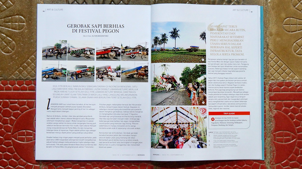 Sriwijaya in-flight magz, Sep 2017